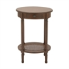 Amusing Wood Brown Accent Table, Brown