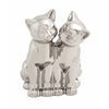 Benzara Adorable And Glossy Ceramic Cat Sculpture