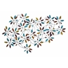 Benzara Classic Metal Leaf Wall Decor With Modern Style
