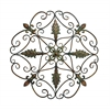 Elegant And Antique Themed Metal Wall Decorative