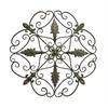 Benzara Elegant And Antique Themed Metal Wall Decorative