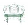 Benzara The Elegant Metal Love Chair