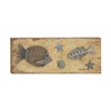 "Eccentric Wood Ps Wall Decor 40""W, 16""H"
