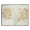Alluring Wood Wall Decor, Silver, Set Of 3