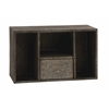 Benzara Attractive And Rusty Styled Square Wall Shelf