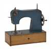 Antique Styled Metal Sewing Machine Décor