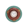 Benzara Beautiful Styled Classy Metal Wall Clock