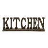 Benzara Authentic And Decorative Wood Kitchen Sign 2