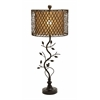Beautiful Metal Polystone Rattan Table Lamp