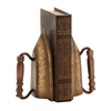 Benzara Innovatively Styled Metal Bookend Pair