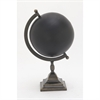 Unique Metal Black Globe, Black