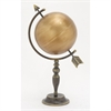 Innovative Metal Gold Globe, Gold