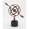 Charming Metal Armillary, Copper and Black