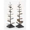 Gorgeous Metal Tree Sculpture Assorted 2, Copper and Black