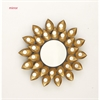 Splendid Metal Wall Mirror, Gold