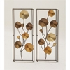 Alluring Metal Wall Panel Assorted 2, Multicolor