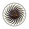 Benzara 37 Inch Diameter Metal Wall Decor For Decor Enthusiasts