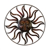 Benzara Metal Sun Wall Decor Feel The Warmth Of Sun