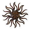 Benzara Metal Sun Wall Decor Feel Every Morning More Fresh
