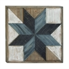 "Wood Wall Art 31""W, 31""H, Brown"