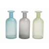 Benzara The Great Glass Bottle Vase 3 Assorted