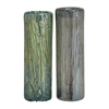 Benzara Customary Styled Fancy Glass Vase 2 Assorted