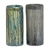Benzara Accustomed Styled Fancy Glass Vase 2 Assorted