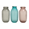 Benzara Fascinating Styled Glass Vase 3 Assorted