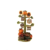 11 Inch Sunflowers With Pumpkins Statuary, Multicolor