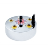 Benzara 5 Jet Super Pond Fogger Kit 15 Led Lights