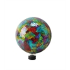 "Benzara 10"" Multi Color Mosaic Gazing Globe"