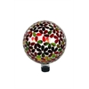 10 Inch Multicolor Flowers Gazing Globe