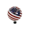 10 Inch Mosaic American Flag Gazing Ball