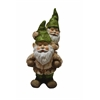 Benzara Two Gnomes Playing Garden Statue