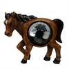 11 Inch Horse Statuary With Fan