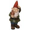 Garden Gnome W/ Mushroom