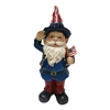22 Inch Americana Gnome With Flag - Large