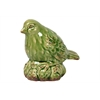 Ceramic Bird Antique Green