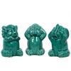 Ceramic Elephant No Evil Assortment Of Three
