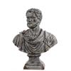 Benzara Fiberstone Roman Emperor Adrian Bust On A Pedestal