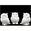 Captivating Owl Assortment Of Three