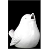 Benzara Beautiful Ceramic Bird White