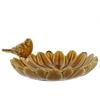 Astounding Ceramic Bird Feeder - Brown