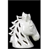 Ceramic Horse Head - Beige