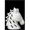 Ceramic Horse Head - Beige
