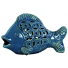 Ceramic Fish - Dark Blue