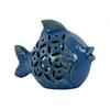 Ceramic Fish Statue - Turquoise