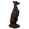 Benzara Realistic Brown Fiberstone Dog Statue