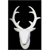 Benzara Porcelain Wall Mount Deer Head