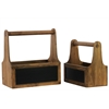 Wooden Organizer Set Of Two